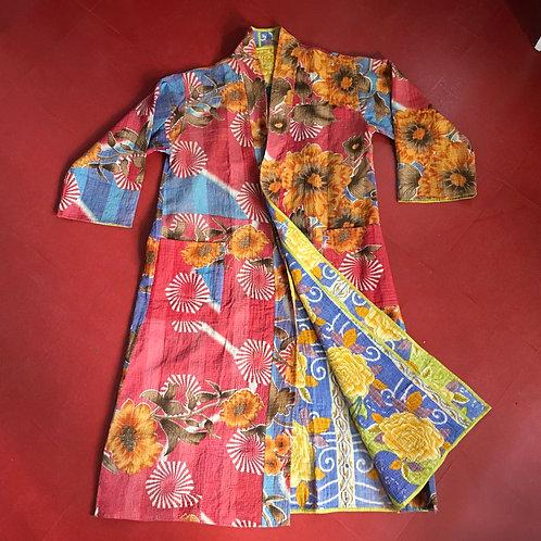 Kantha Robe -Multi Colour Floral