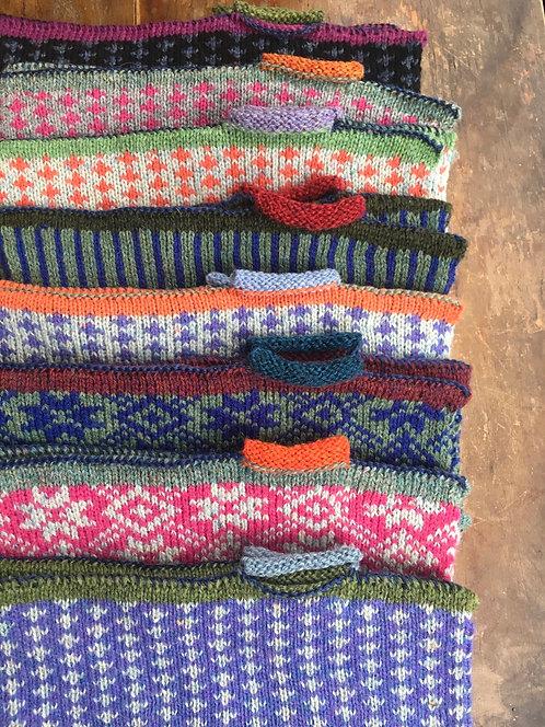 Handmade Fingerless Wool Gloves