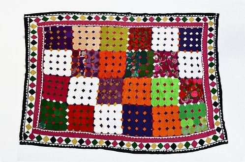 Vintage Patchwork Ralli Quilt- Pakistan