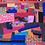 Thumbnail: Crazy Colourful Patchwork Vintage Quilt