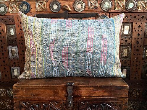 Vintage Sari Border Cushion