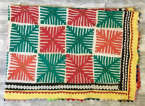 Vintage Applique Quilt - Pakistan