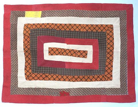 Vintage Patchwork Quilt - Checks