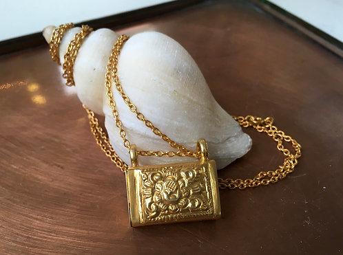 Secret Locket Pendant Necklace