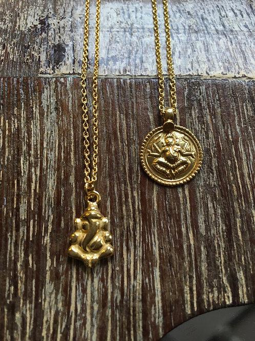 Ganesha Pendent Necklace
