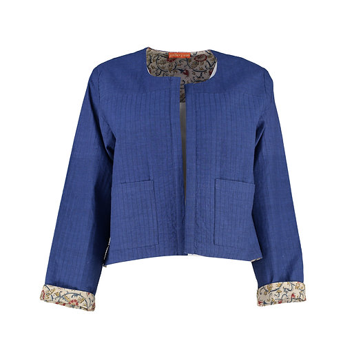 Beautiful Block Printed Cotton Jacket