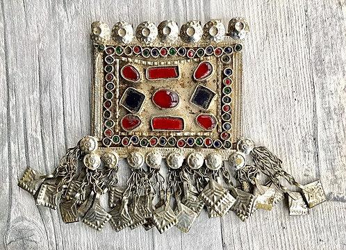 Large Vintage Afghani Pendant