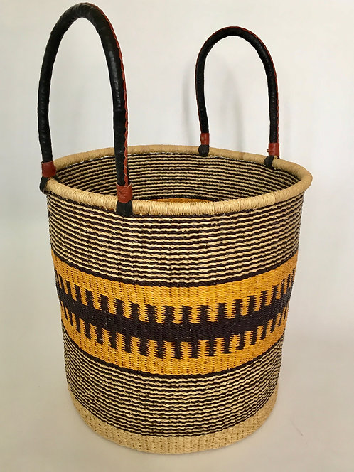 Yellow Super Size Storage Basket