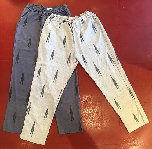 Cotton Ikat Trousers