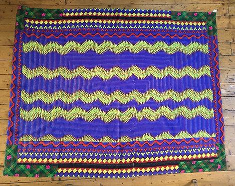Vibrant Finely Stitched Vintage Quilt - Pakistan