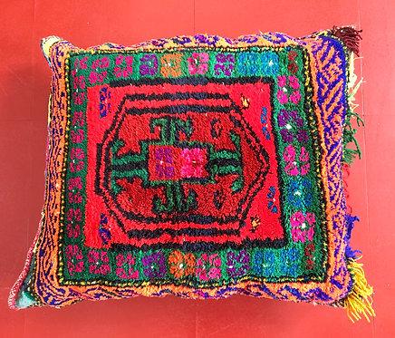 Bright vintage Carpet Cushion
