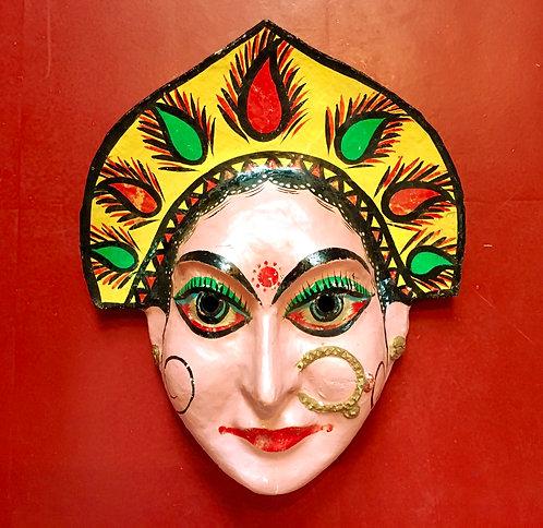 Vintage Durga Mask