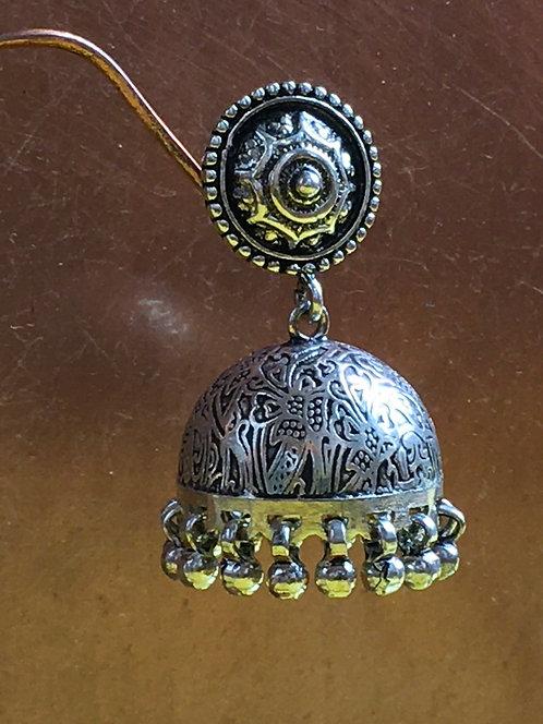 Junka Silver Earrings .