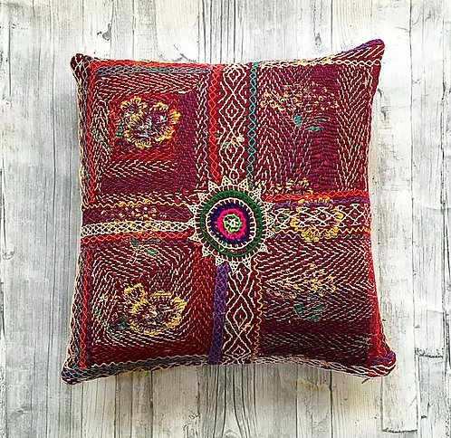 Hand Embroidered Banjara Cushion