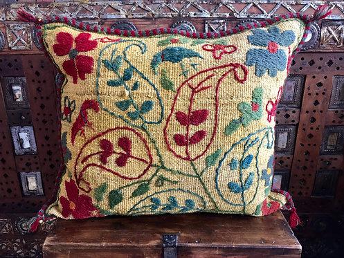 Uzbeki Hand Embroidered Cushion