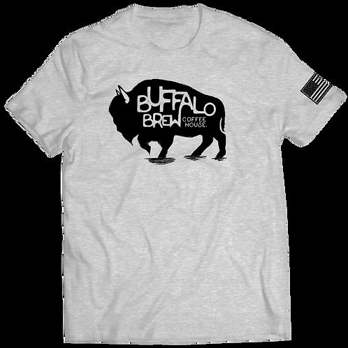 Buffalo Brew Shirt Gray