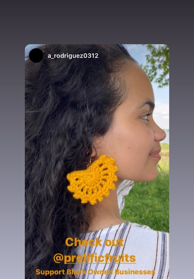 #CrochetEarrings