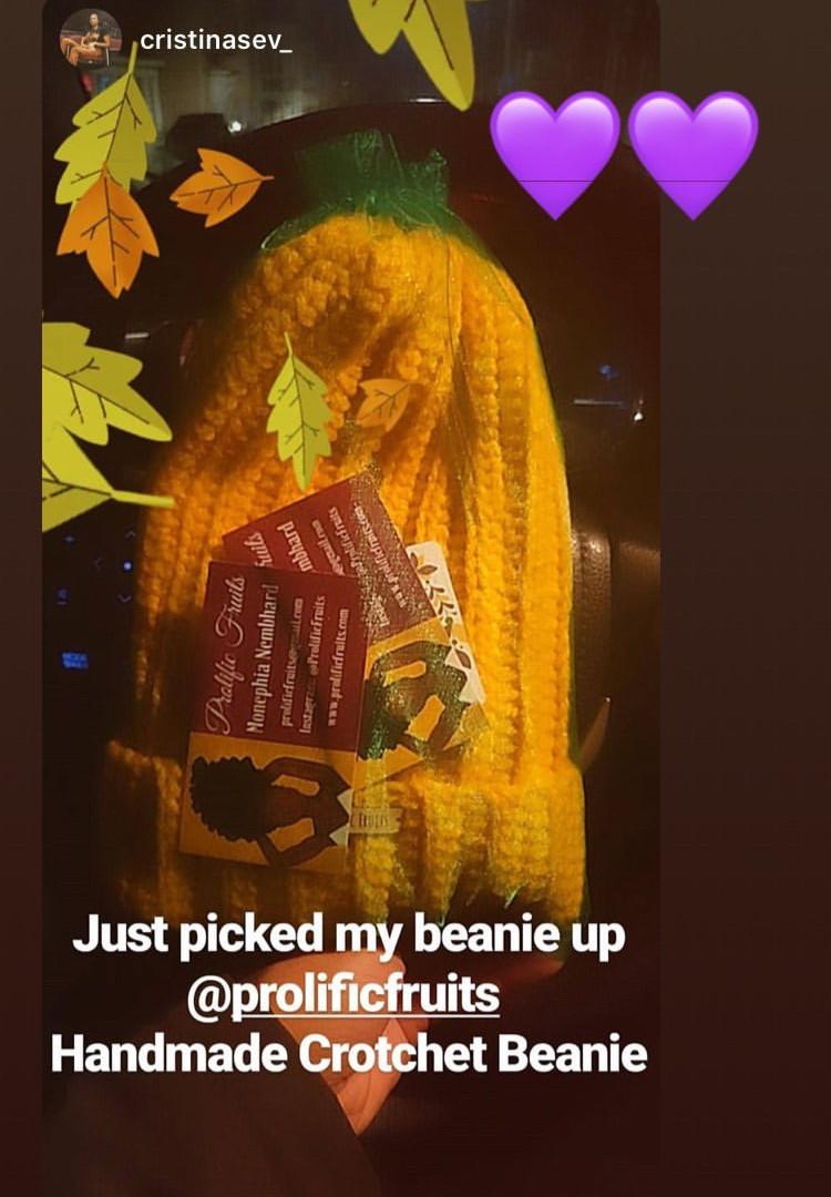 #CrochetBeanie