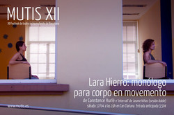 Lara Hierro: Monólogo para corpo en movemento