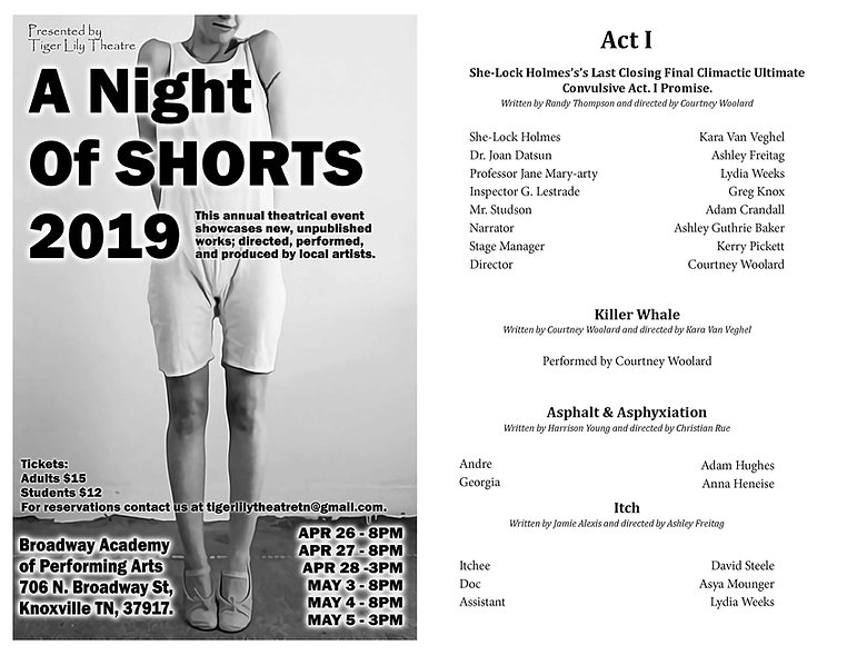 Program Web Pg 1 - Night of Shorts 2019.