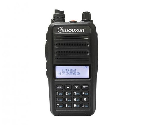 Wouxun KG-UX86 Dual Band VHF/UHF Transceiver for PPG