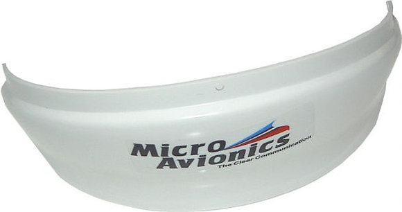 Air Dam Helmet Visor Reflector