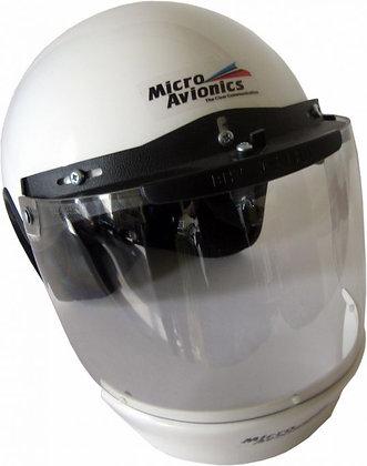 Helmet with Visor, Visor Lock and Plastic Air Dam