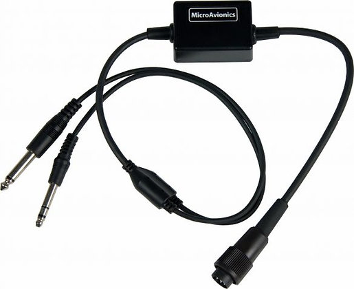 Microlight Headset to GA Headset Jacks