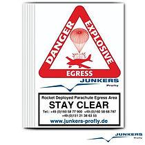 Junkers Sticker Label