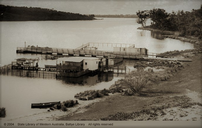 Bicton Jetty and the oyser bedsFILTER.jp