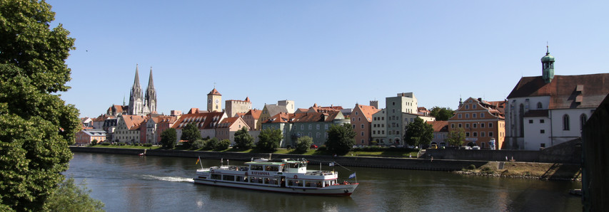 Donauschifffahrt in Regensburg