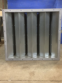 Rectangular Splitter Attenuators