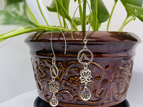 Namaste Yogi Hook Earrings