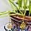Thumbnail: Sodalite Lotus Hoop Earrings