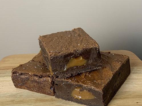 Salted Caramel Brownies - Single