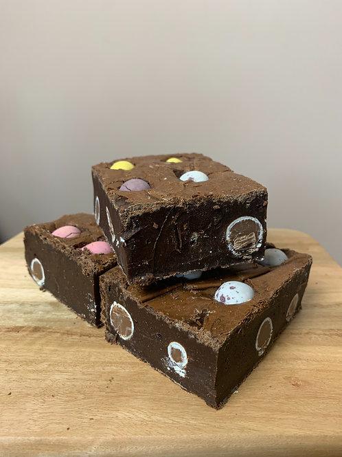 Mini Egg Brownies - Single