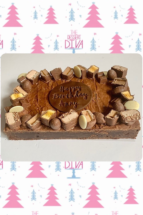 Brownie Slab -Small or Large (PRE-ORDER FOR CHRISTMAS)