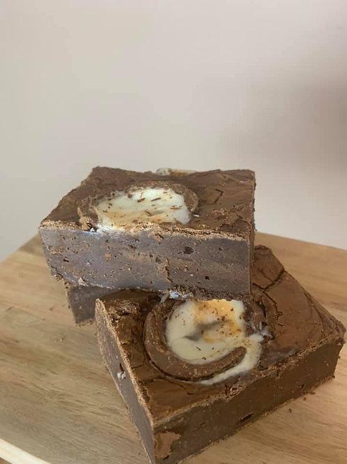 Creme Egg Brownies - Single