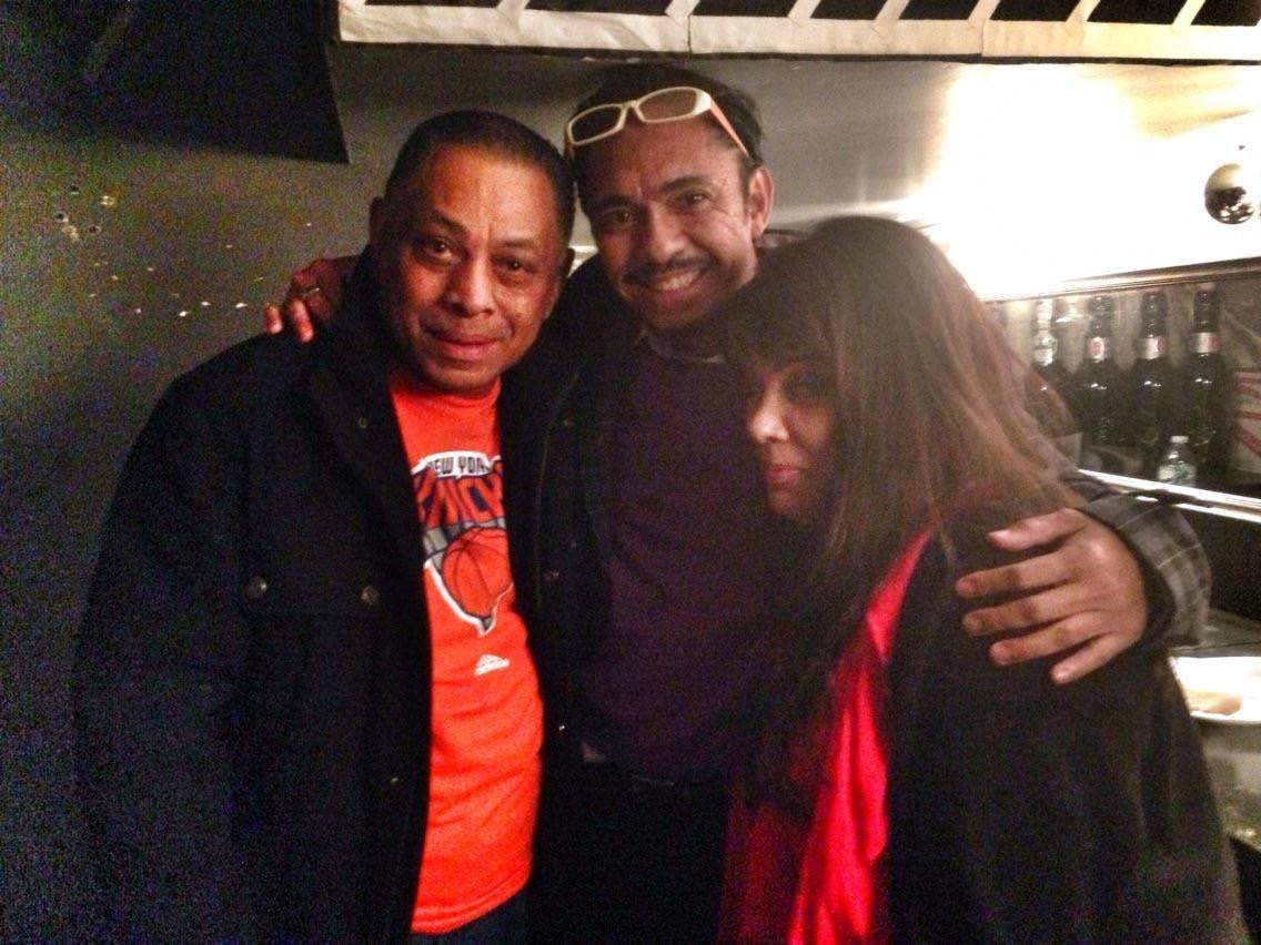 Realuyo with Lara Stapleton and Joe Bataan
