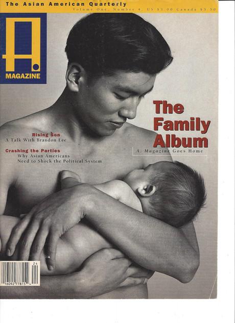 Realuyo A Magazine Cover Story, 1990