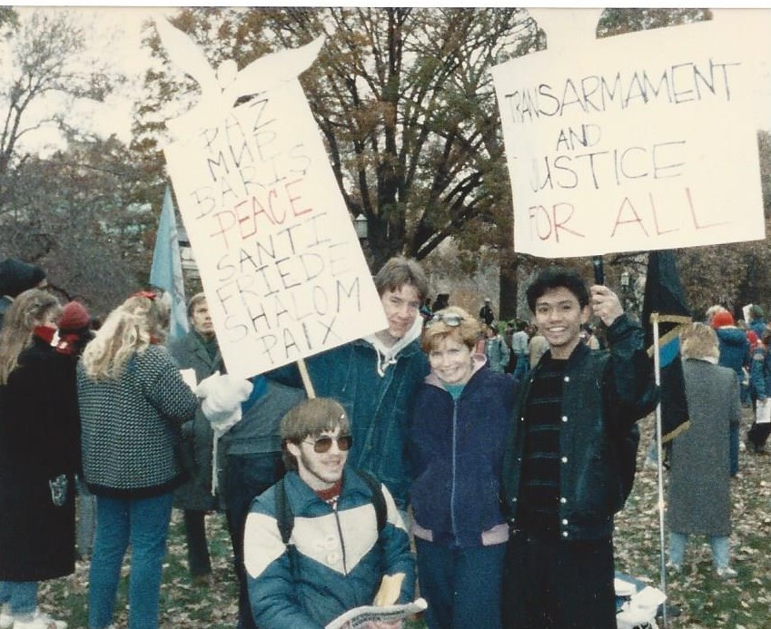 Realuyo Protest DC 1986