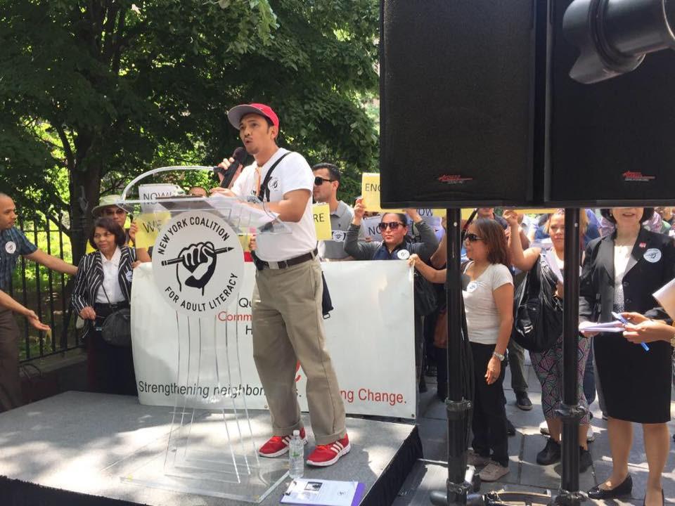 Realuyo NYCCAL Rally 2016