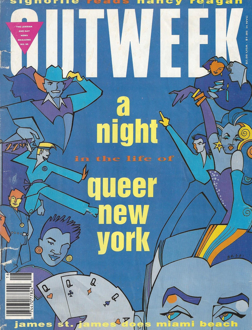 Outweek Issue 1991