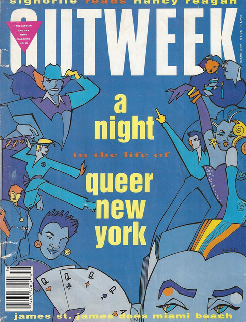 Outweek Issue 1991
