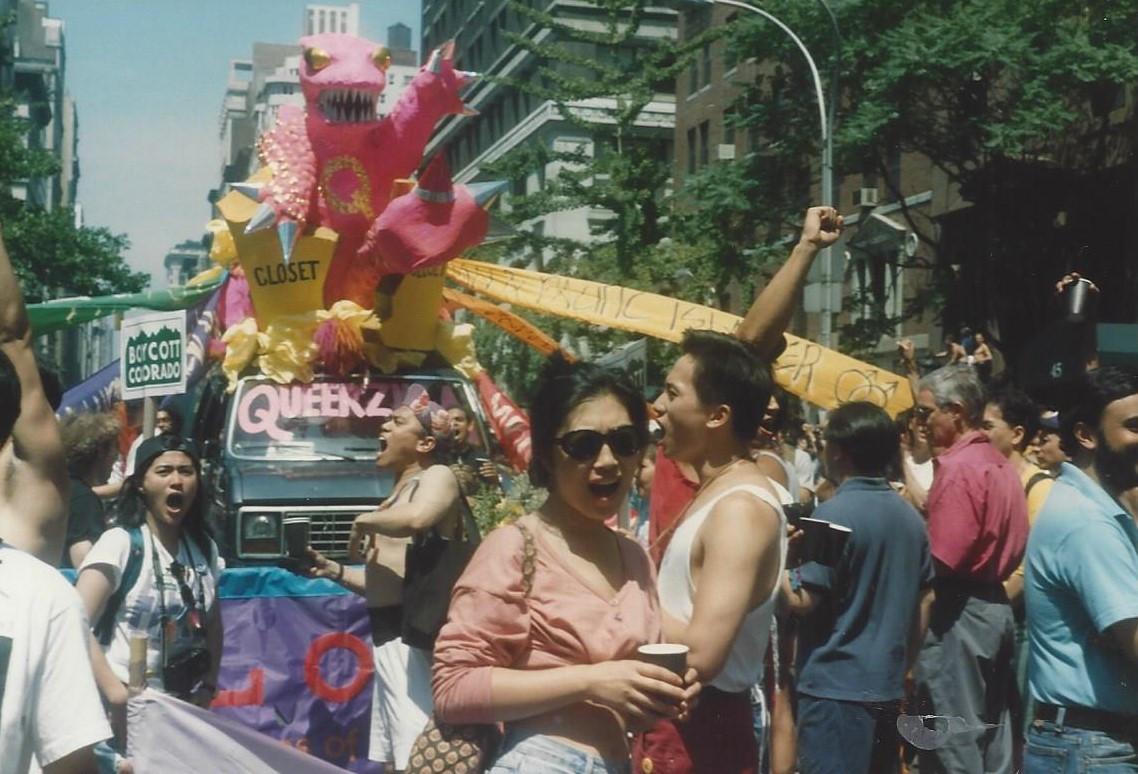 Gay Pride NYC 1991