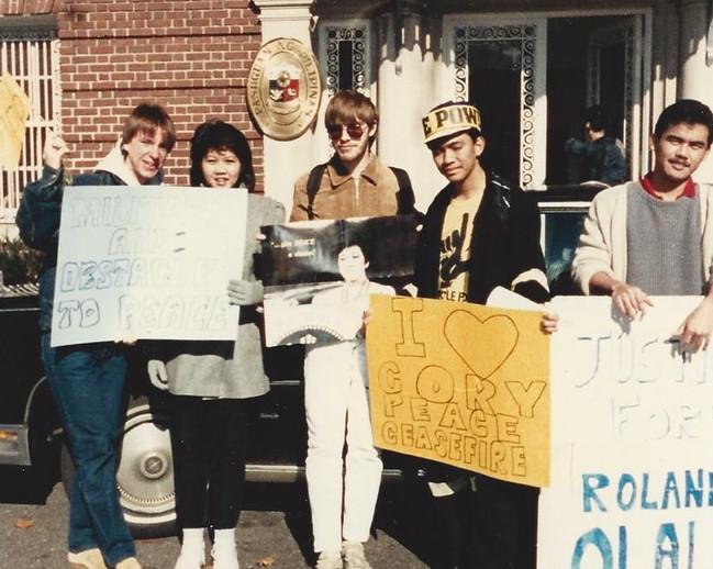 Realuyo Philippine Embassy 1986