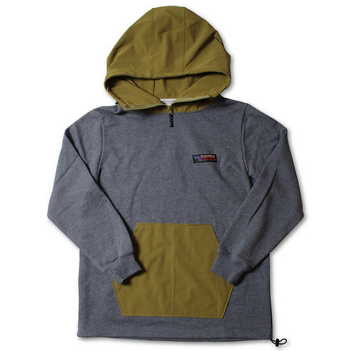 811606(WD21SS-17) ナイロンフード切替パーカー  ¥7.900