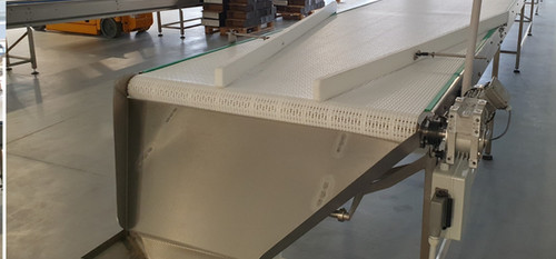 sorting assembly conveyor for short breads