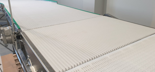 flow spacing, micropitch conveyor