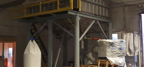 Capacity up to 150tons/hour